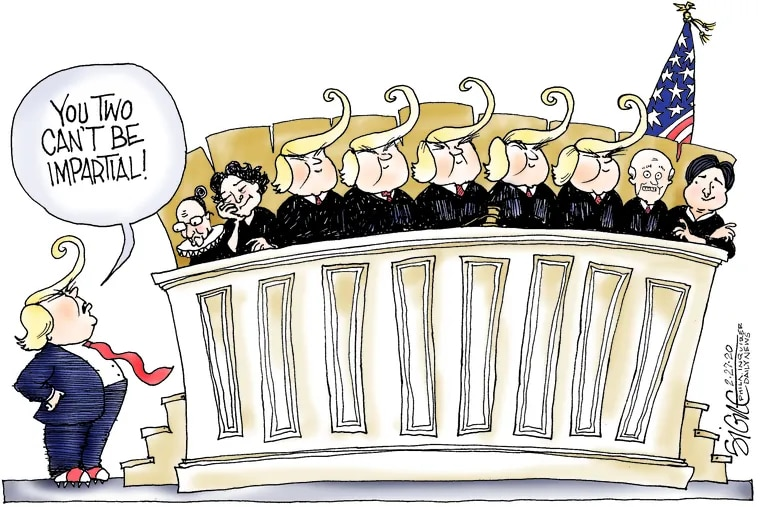 Court packing, Trump style.