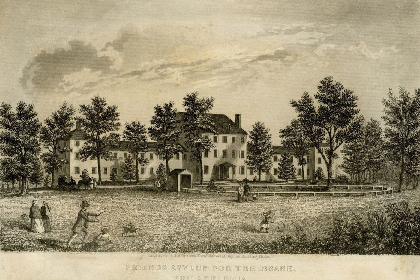 Friends Hospital bicentennial a reminder that change still needed in mental health care   Philly History