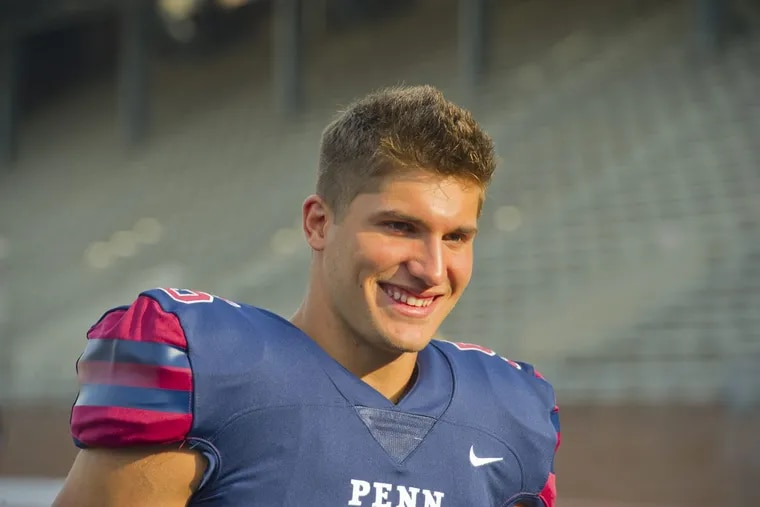 Wide receiver Justin Watson helped seal the Quakers' win over Cornell by making a key catch in the final drive and also scoring on the two-point conversion.