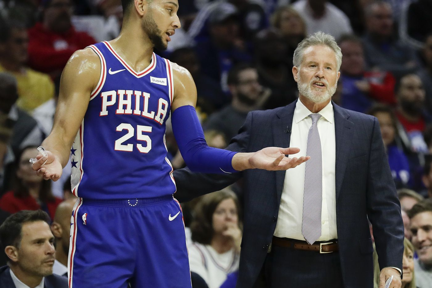 Sixers' Brett Brown on Ben Simmons: 'He's worthy of being an All-Star'