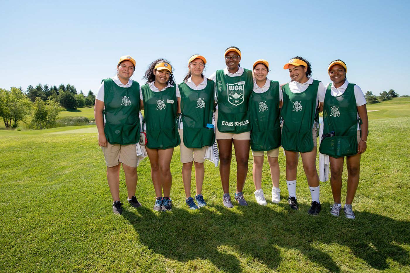 Girls from Philly high school pursue caddie scholarship for college