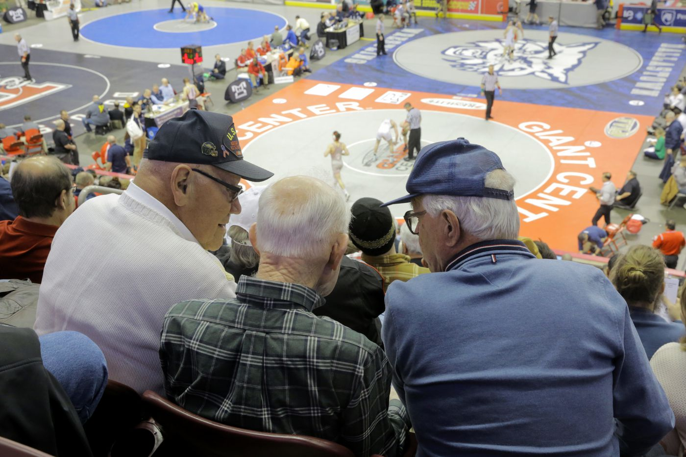 For more than half a century, three old friends head west for their love of wrestling