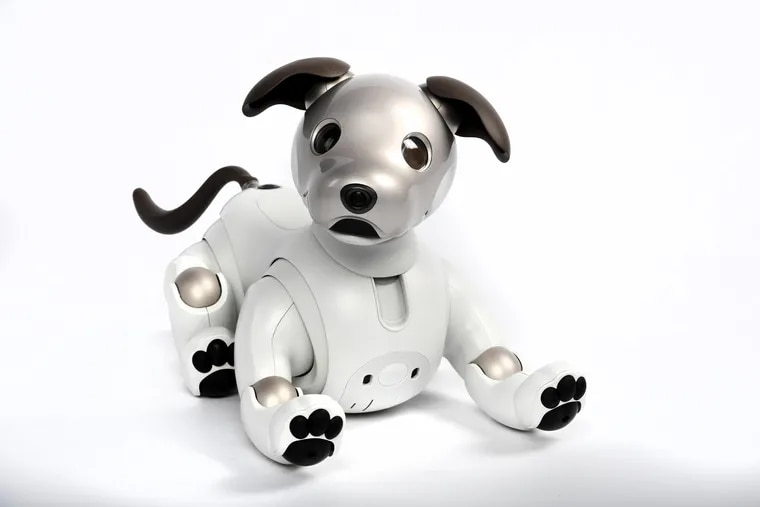 Aibo, the robot dog, from Sony.