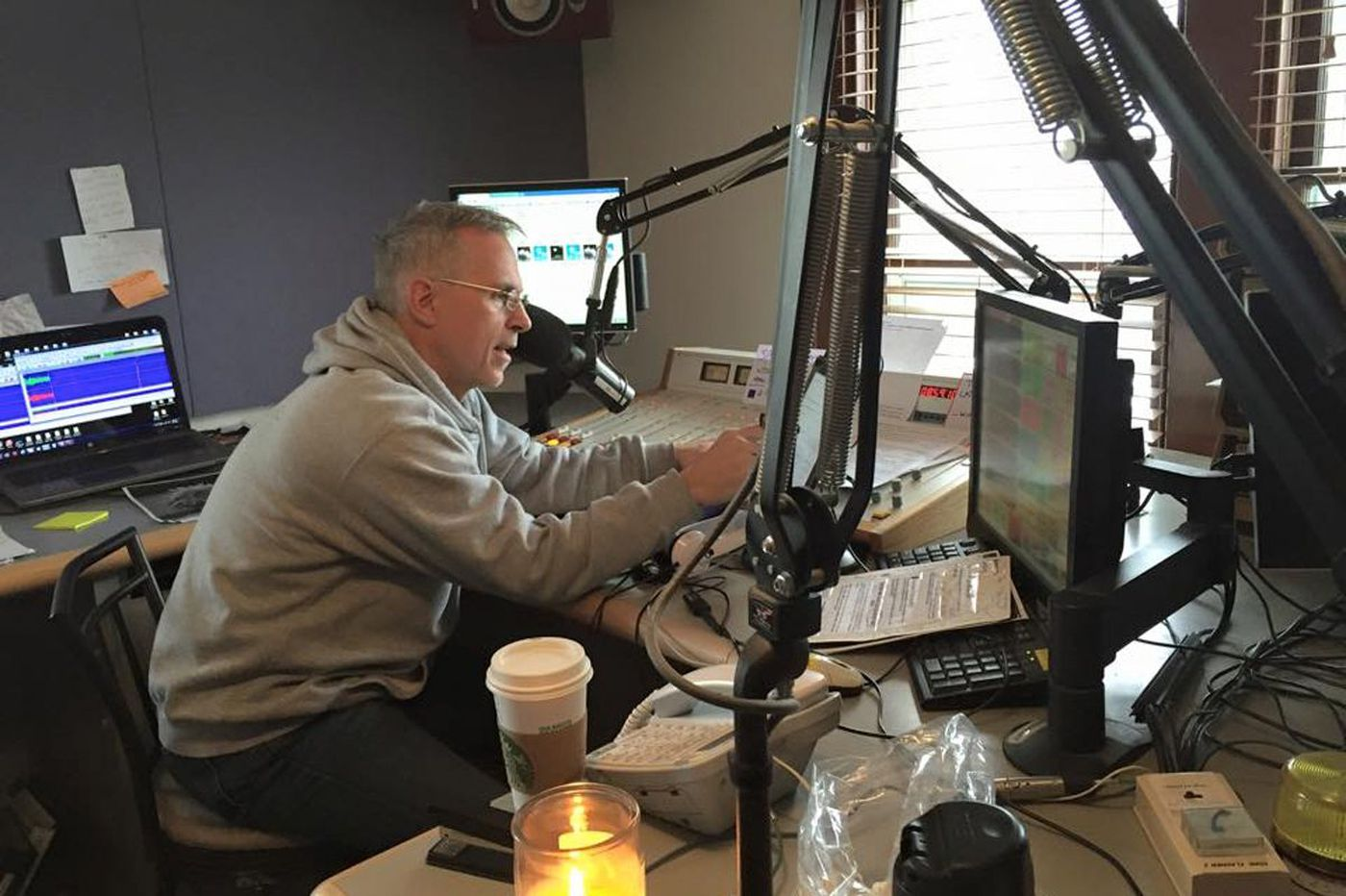 Pa. radio host out after being told he couldn't criticize Trump