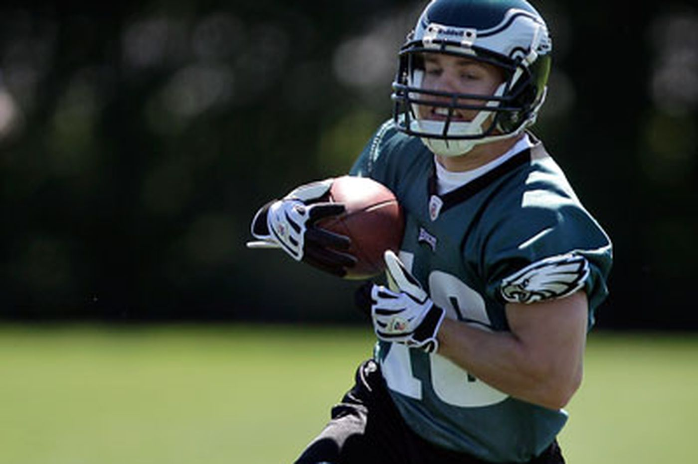 Hall is a high-ranking rookie for Eagles