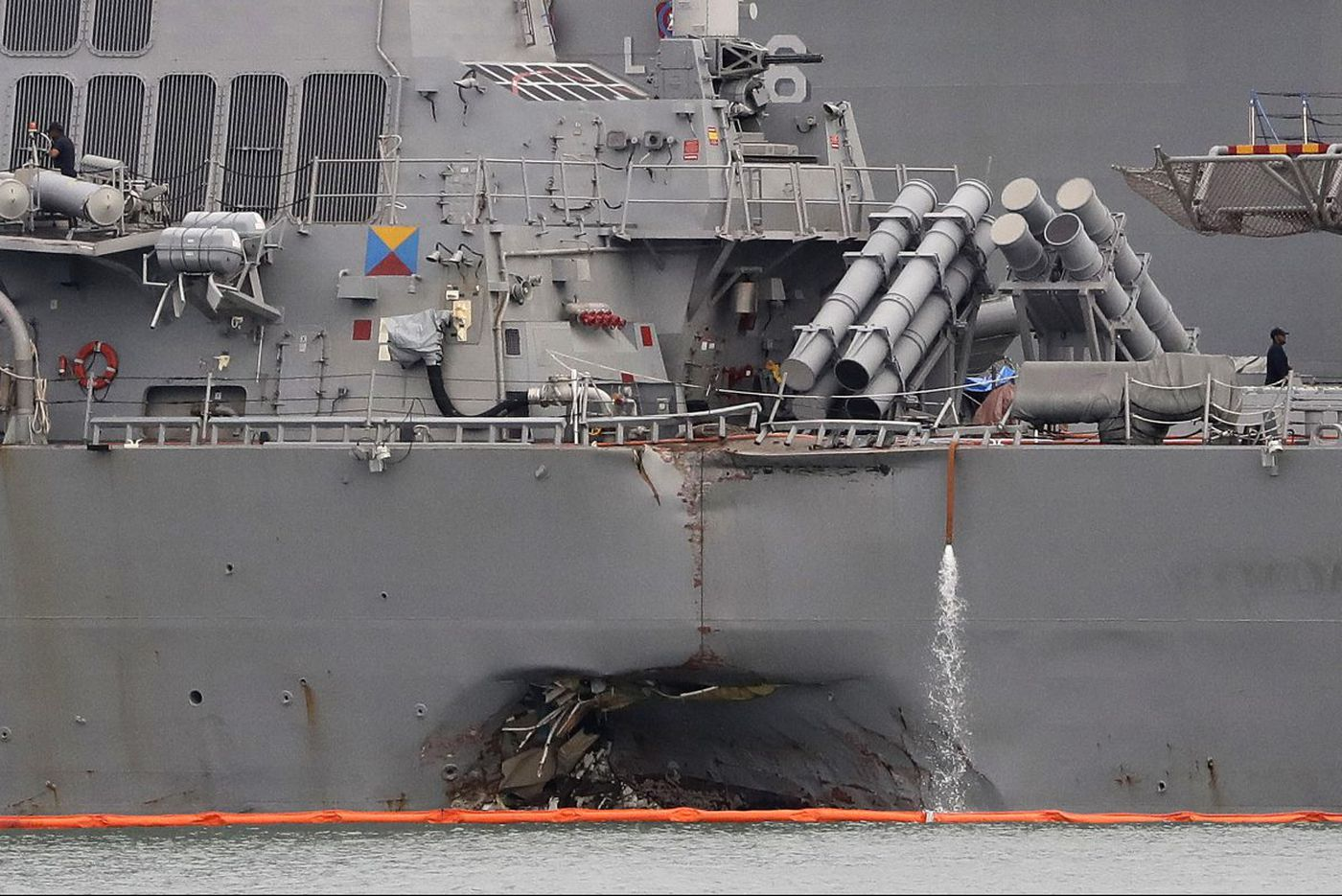 Former Navy officer: Cyber-threats, GPS spoofing possible causes in USS John S. McCain collision | Commentary