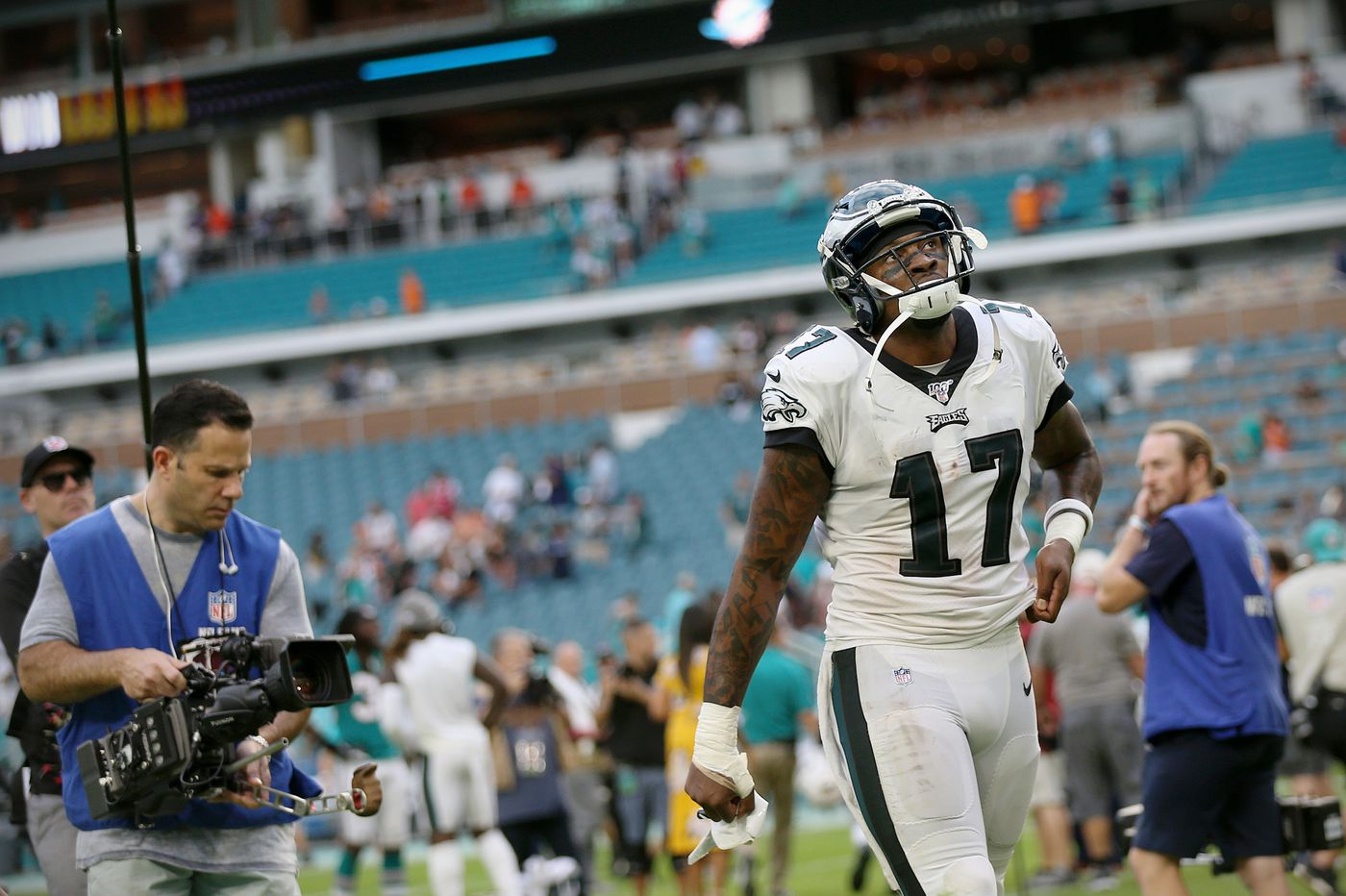 Eagles' attempts to trade Alshon Jeffery extend to last season