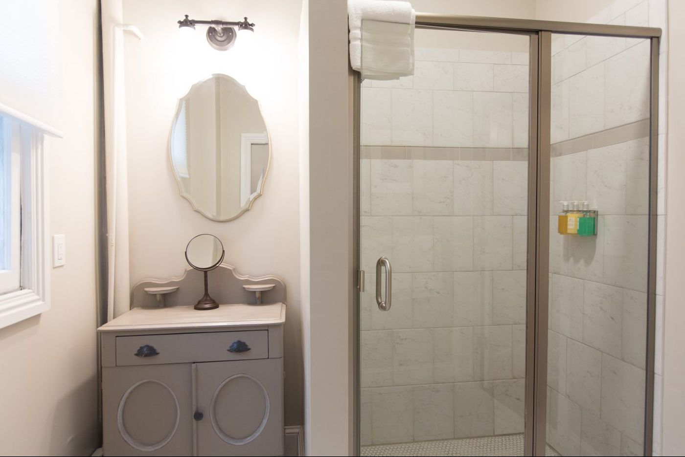Ask Jennifer Adams: New shower curtains improve the view into small bathrooms