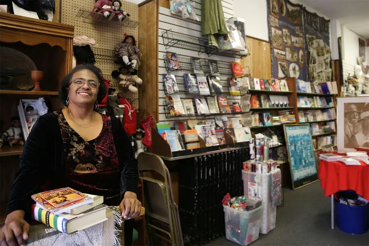 Yvonne Blake, proprietor of the the city's oldest African-American bookstore, is struggling to stay open.