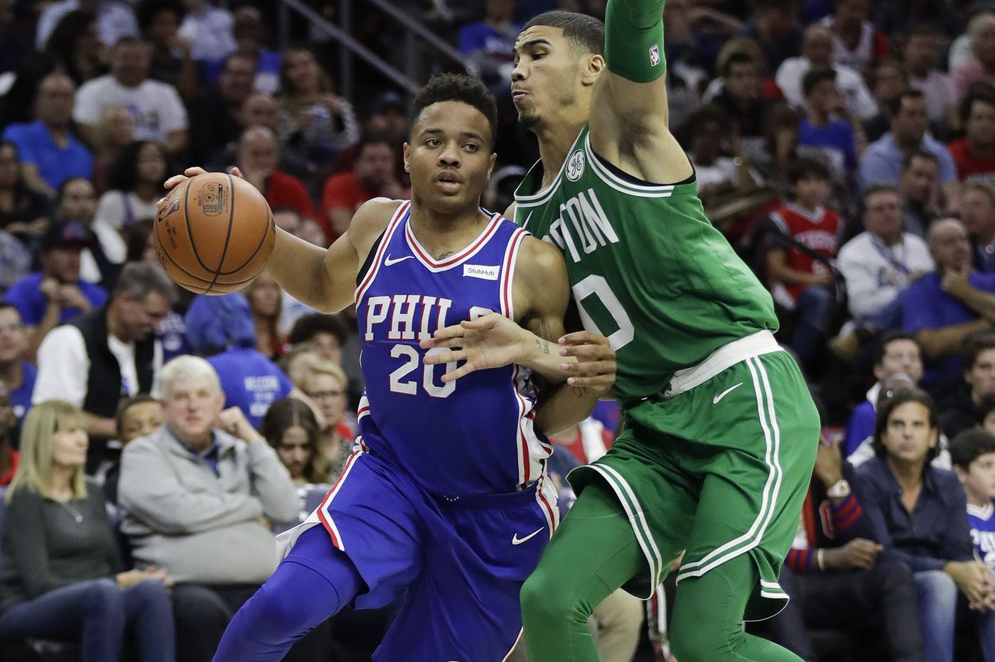 Sixers' Markelle Fultz says facing Celtics just another game