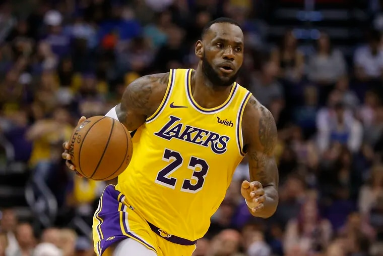 LeBron James has played more minutes than all but five players in NBA history.