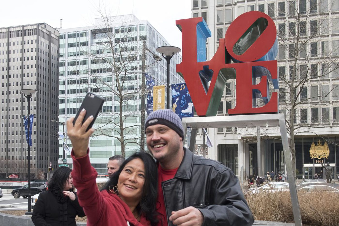 Why Robert Indiana's LOVE sculpture means so much to Philadelphians