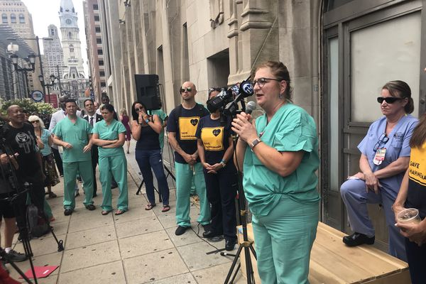 Labor, state, and city officials seek last-ditch rescue funds for Hahnemann University Hospital