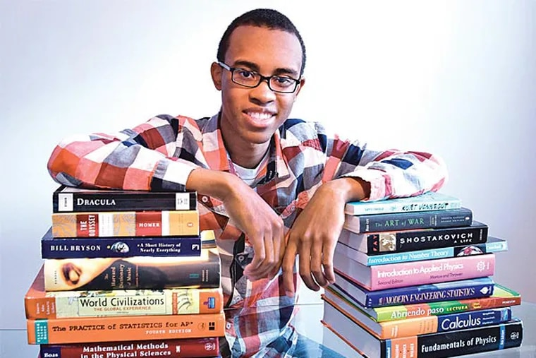 Cameron Clarke, 18, is one of 360 students nationwide to score a perfect 2400 on the SATs in 2012. (Steven M. Falk/Staff)