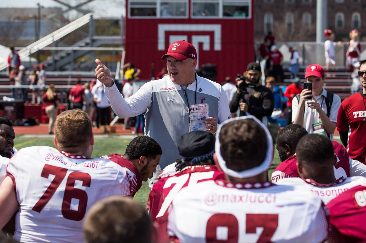 Five observations after Temple's spring football season