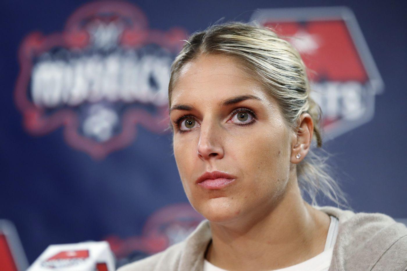 Elena Delle Donne, now a WNBA vet, is ready to make herself heard