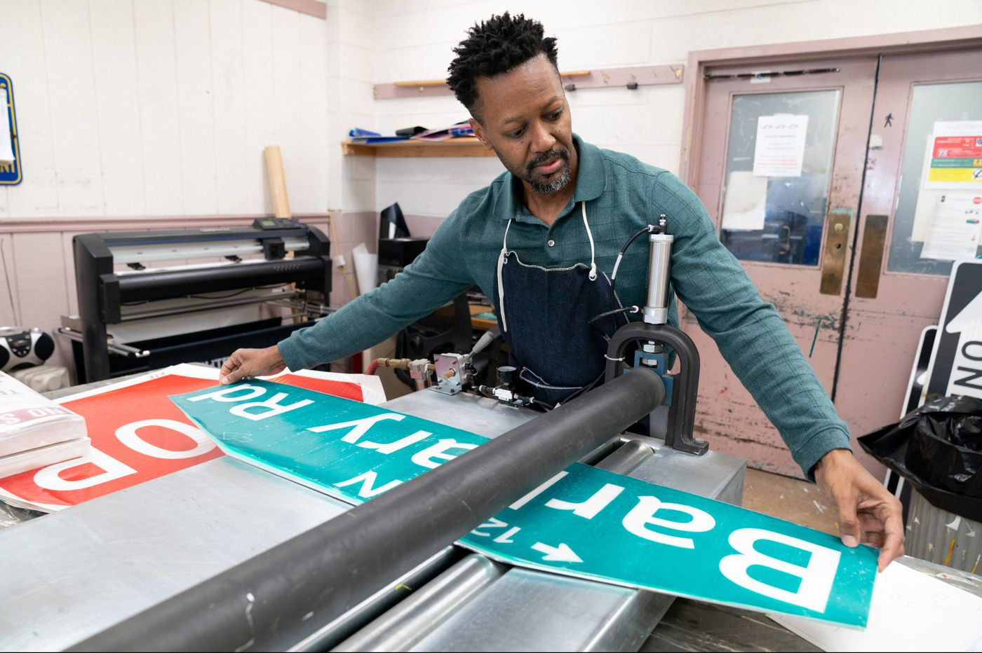 Is your street sign faded or missing? 3 people are responsible for over 100,000 Philadelphia signs