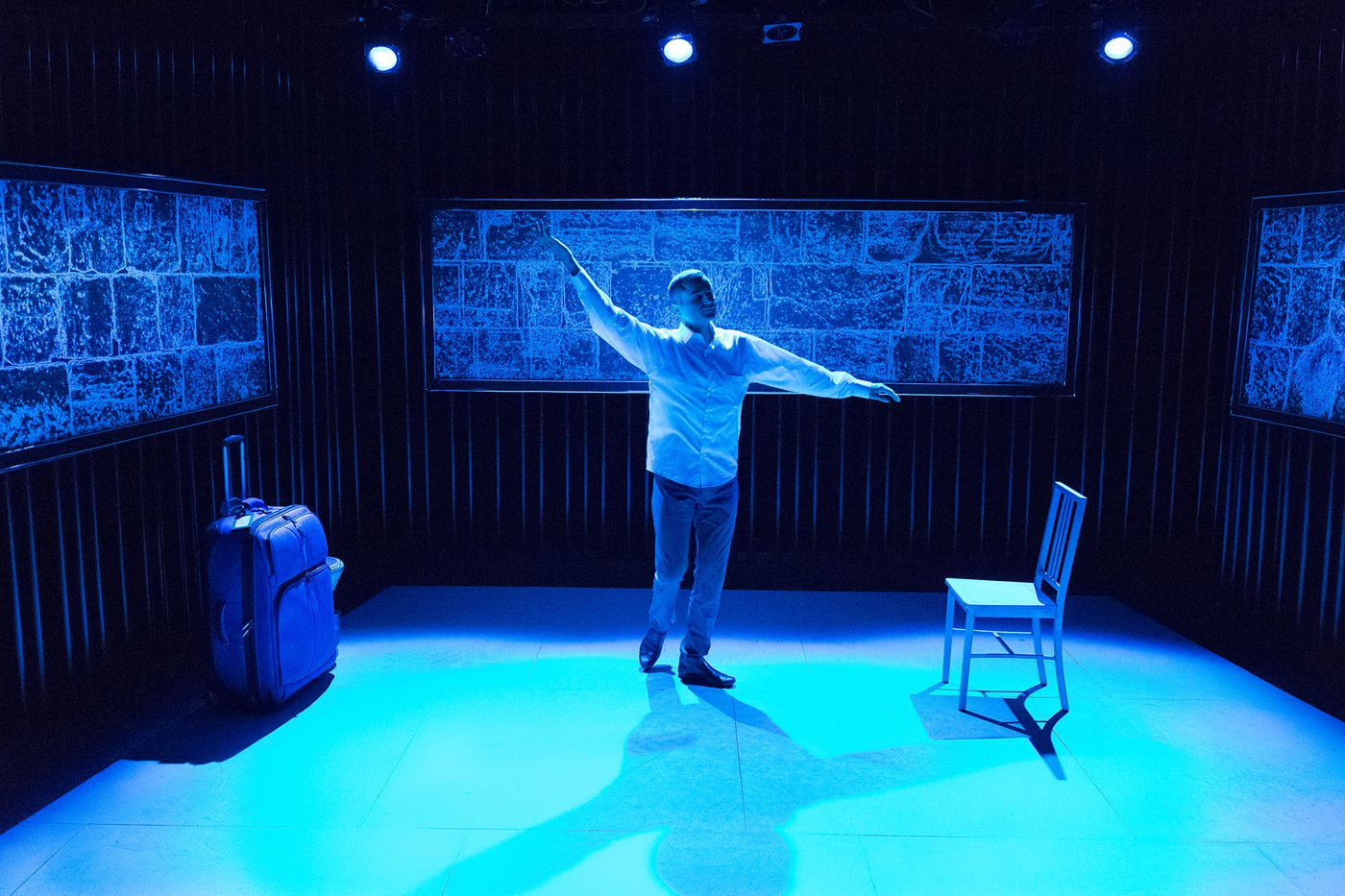 'In Between' at Walnut Studio 3: Worthwhile themes, but without complexity or firm direction