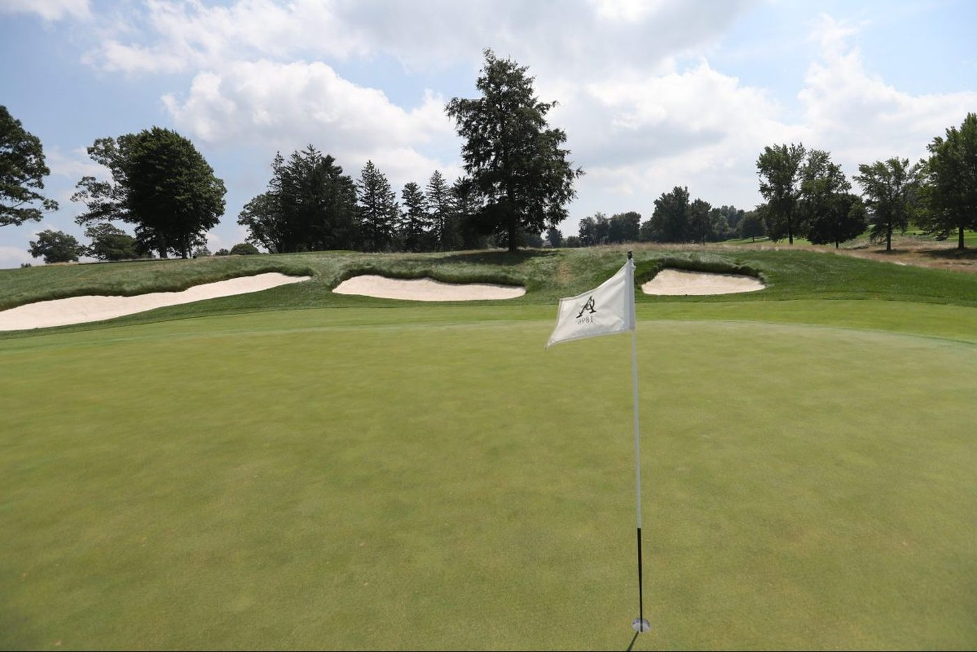 Aronimink ready to show off restored course at September PGA event