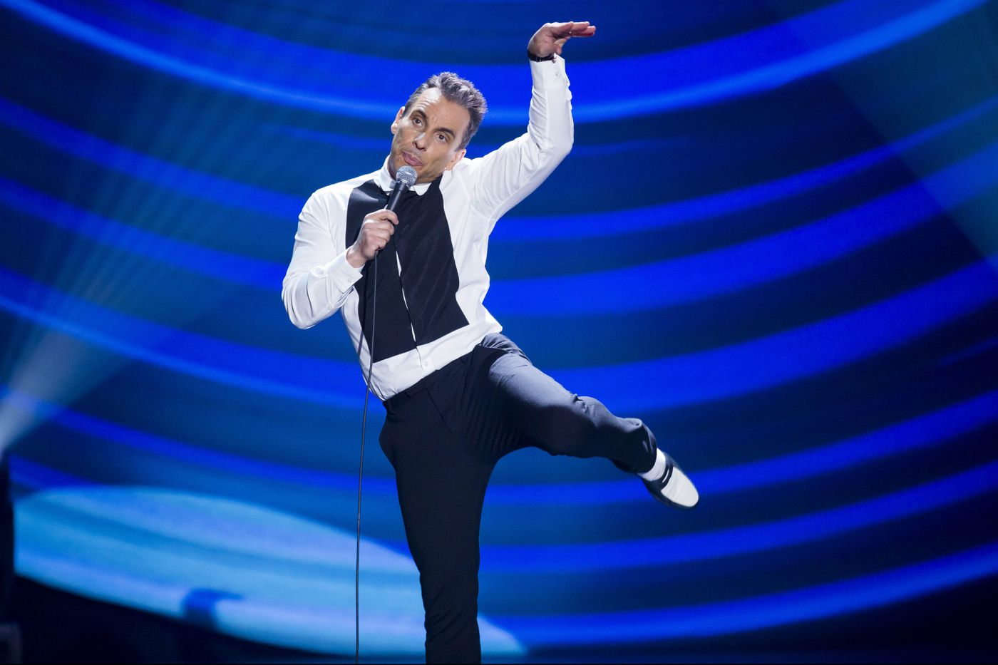Comedian Sebastian Maniscalco is about to perform his biggest show ever in Philadelphia