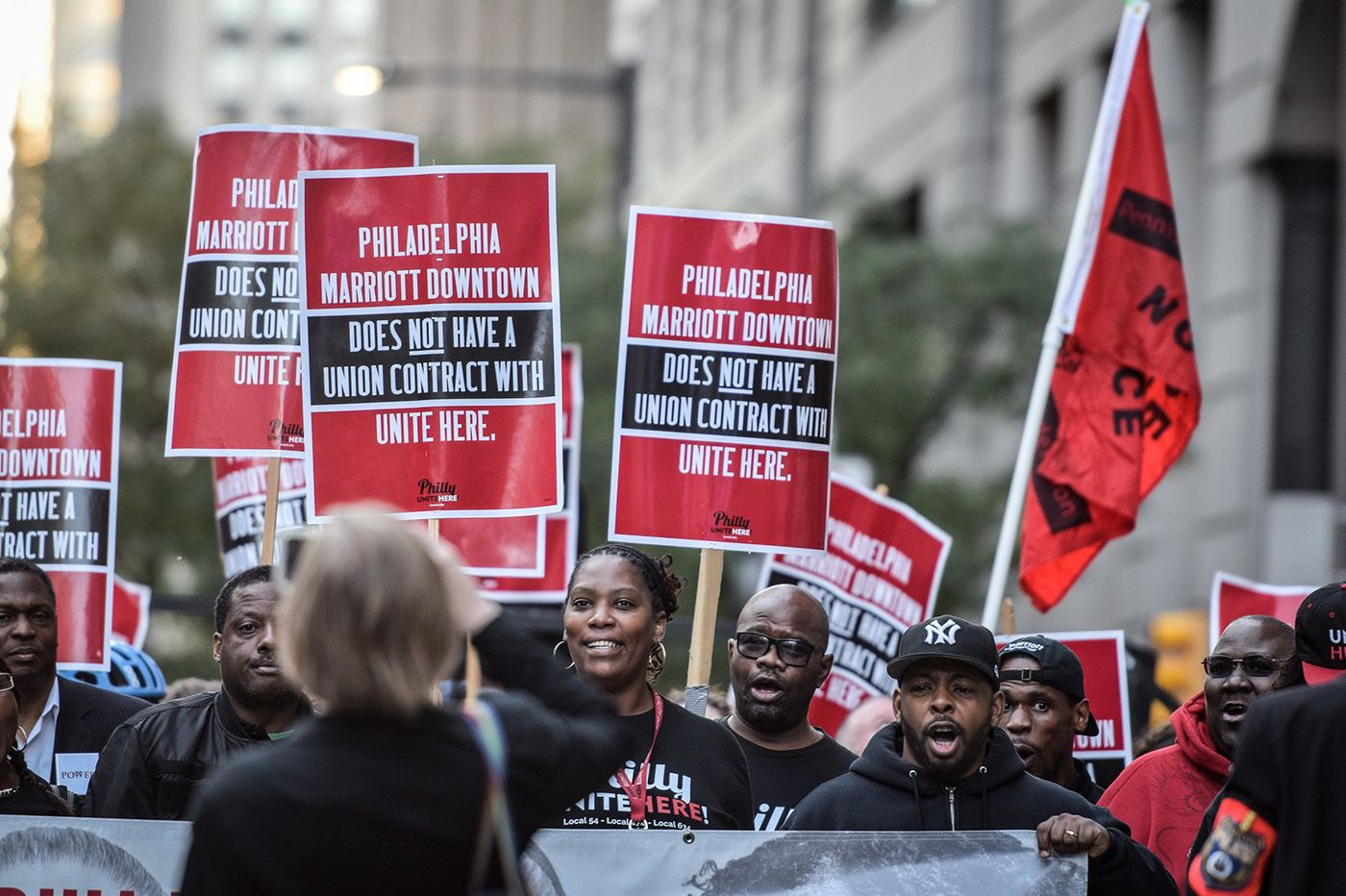 Philadelphia is still very much a labor town. Here's how workers are fighting back.