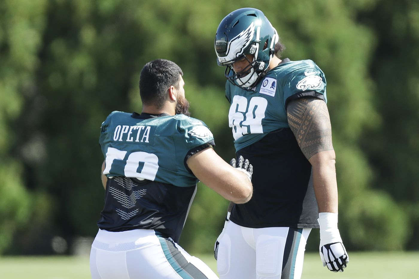 Eagles Practice Observations: Matt Pryor rising, Press Taylor's big role with offense, and Jason Avant helping Jalen Reagor