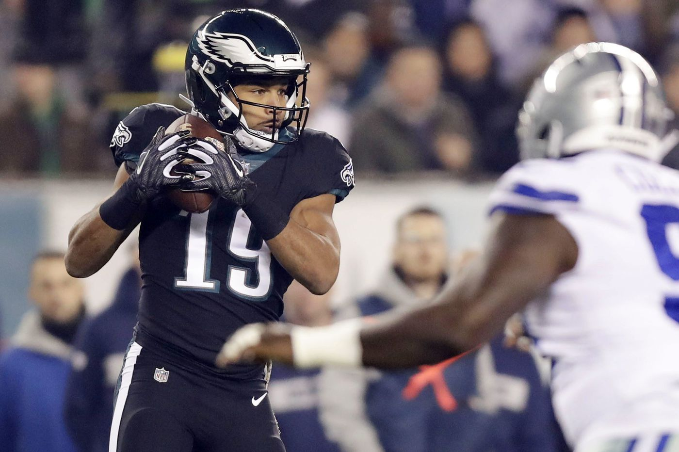 Golden Tate does little to help the Eagles avoid a crushing loss to the Cowboys   Mike Sielski