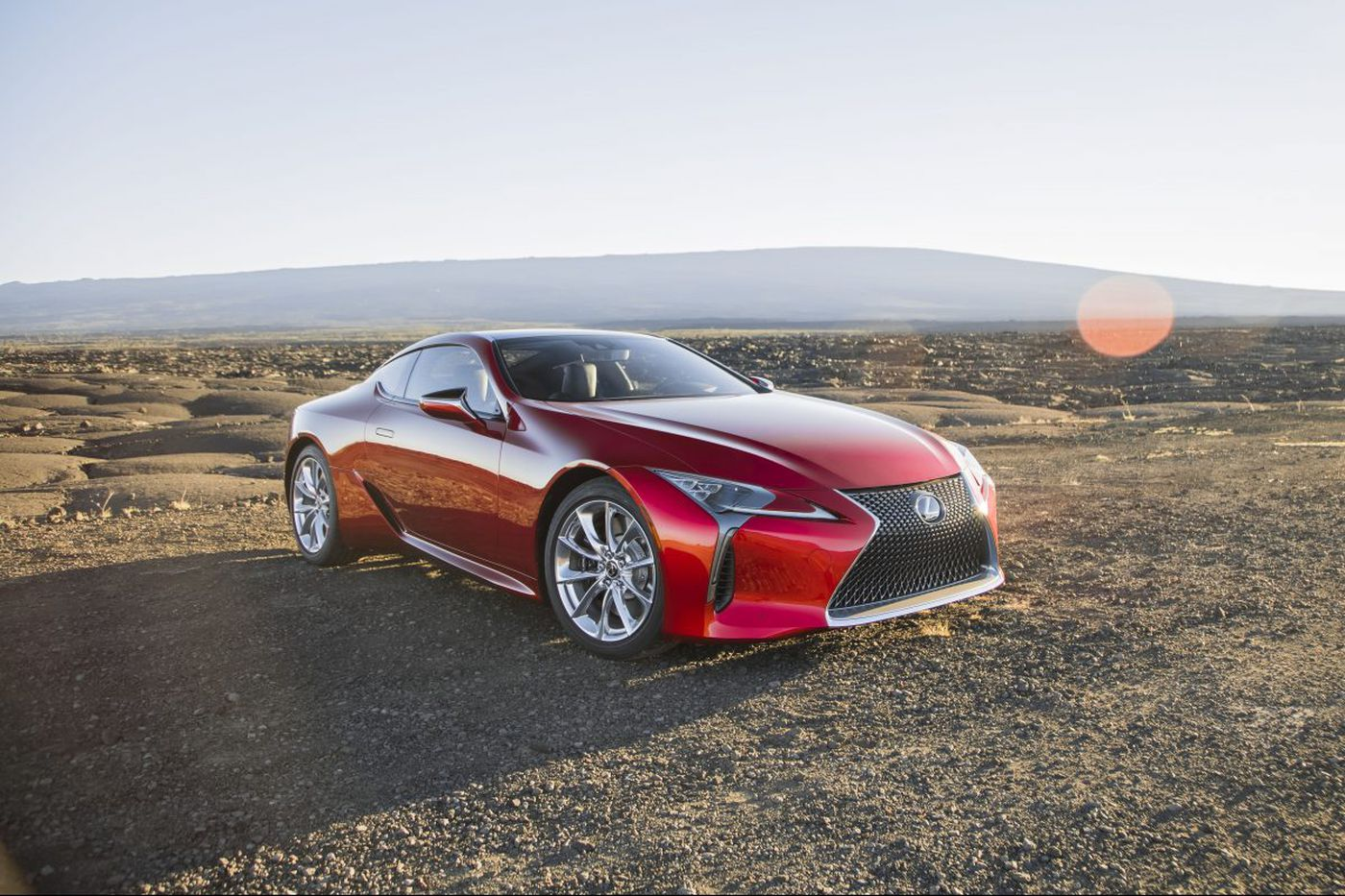 Lexus' fresh prince of grand touring: The LC 500