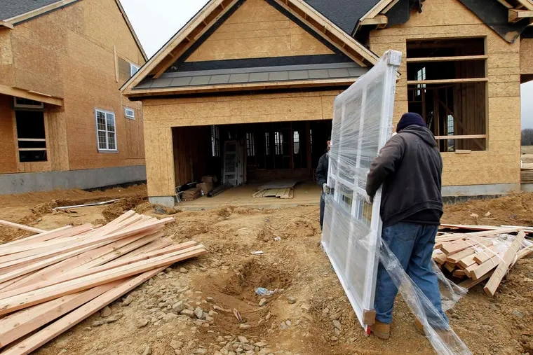 Toll Bros. credited pent-up demand, rising home prices, and low interest rates.