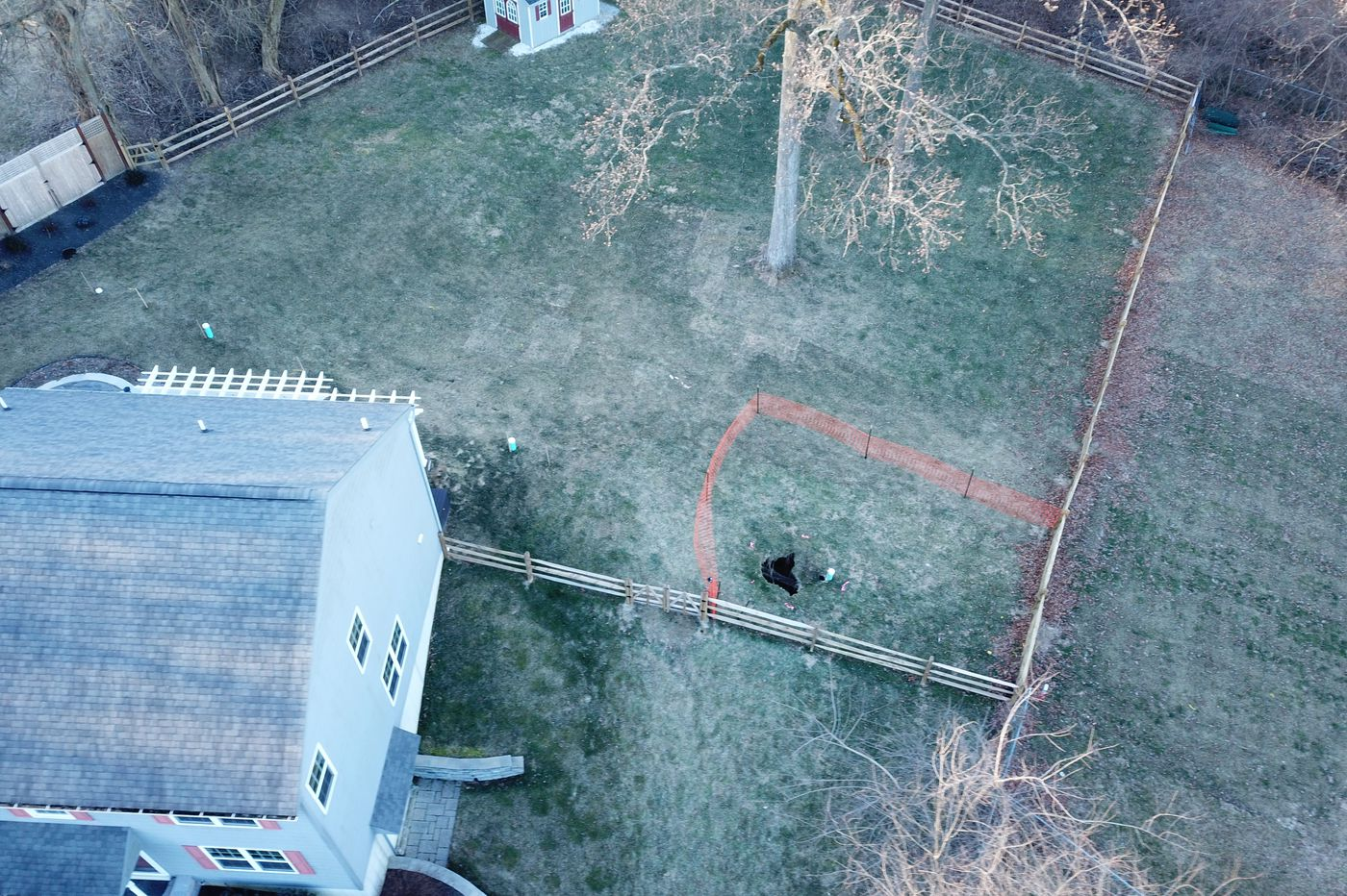Another sinkhole appears in Chester County neighborhood, exposing Mariner East pipeline