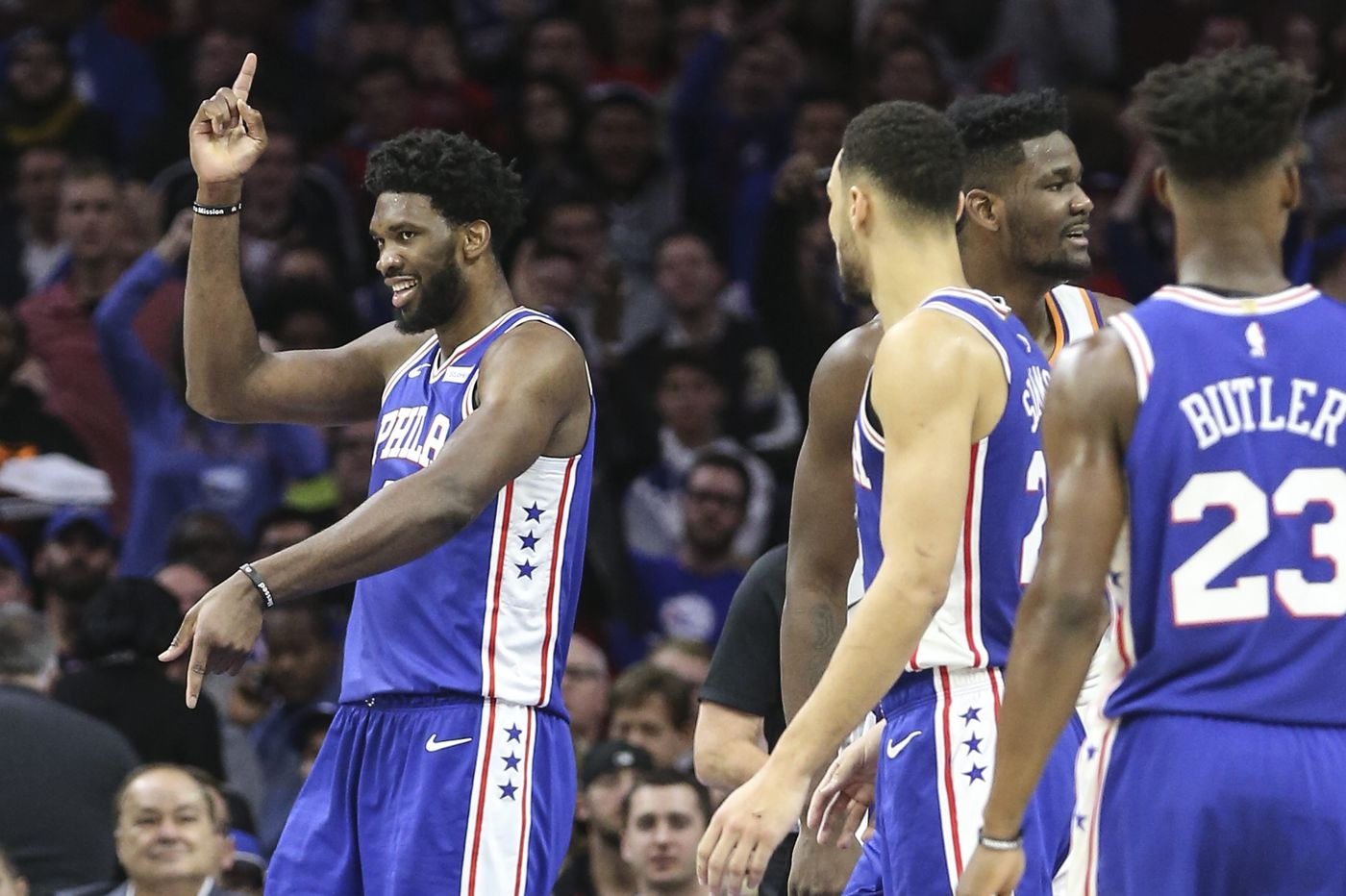 Sixers' favorable schedule in next four games offers a chance to stay hot