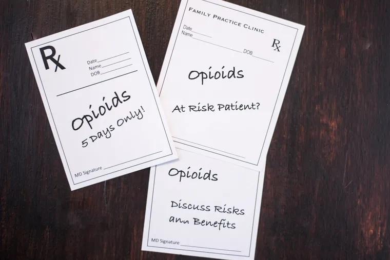 PA legislators considering making opioid prescription guidelines mandatory.