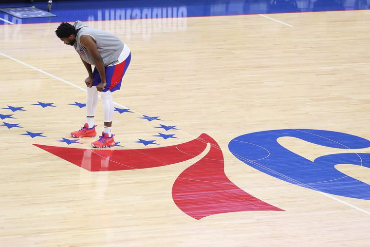 Sixers-Hawks: Joel Embiid remains questionable for Game 3