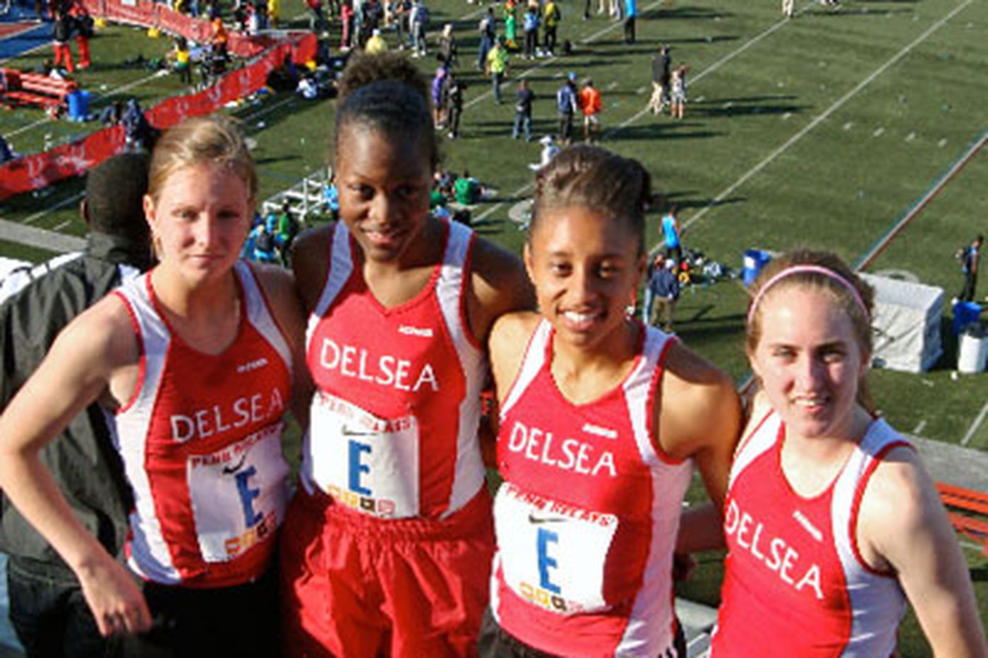 Delsea relay team used to setting records