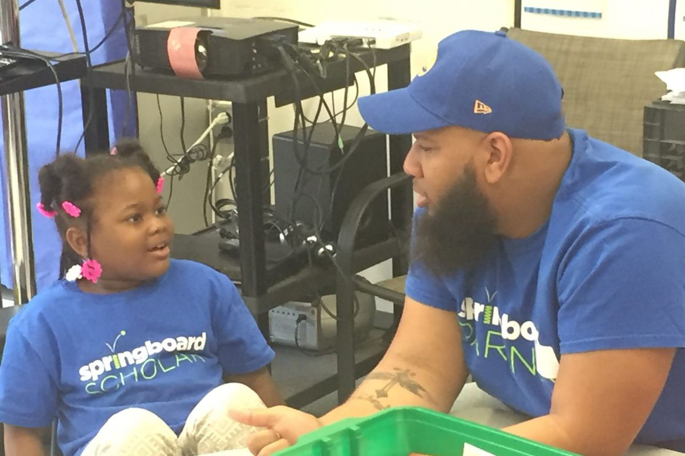 Summer literacy program enlists parents as partners in a child's education