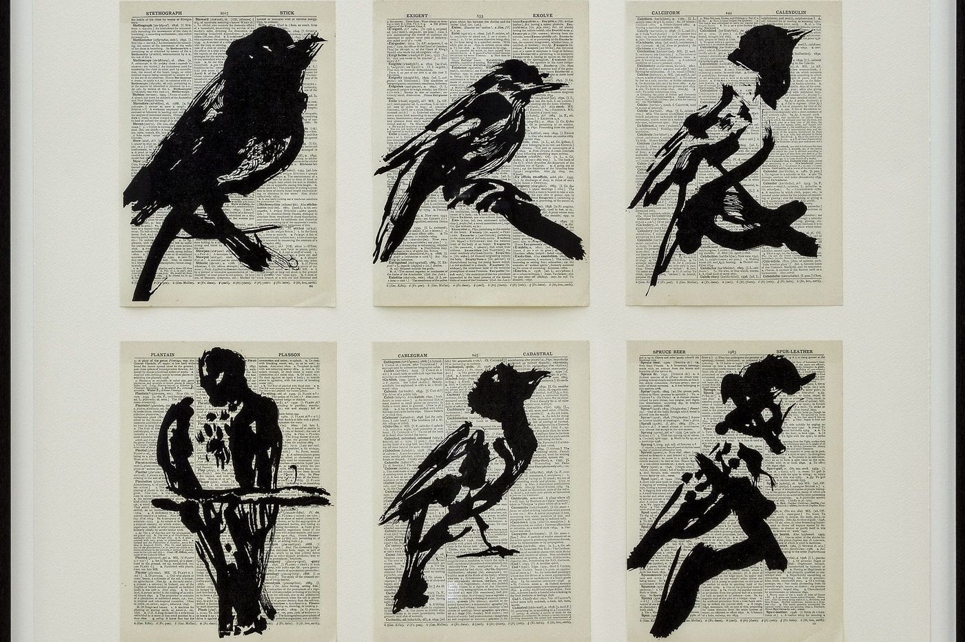 In Philly galleries now: William Kentridge linocuts, UK roadside views, painted Philadelphia