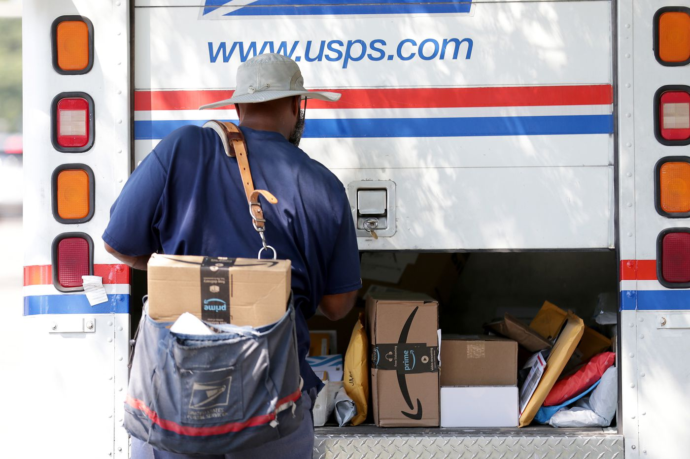 The USPS is putting all resources toward delivering ballots. But the rest of the mail is piling up.
