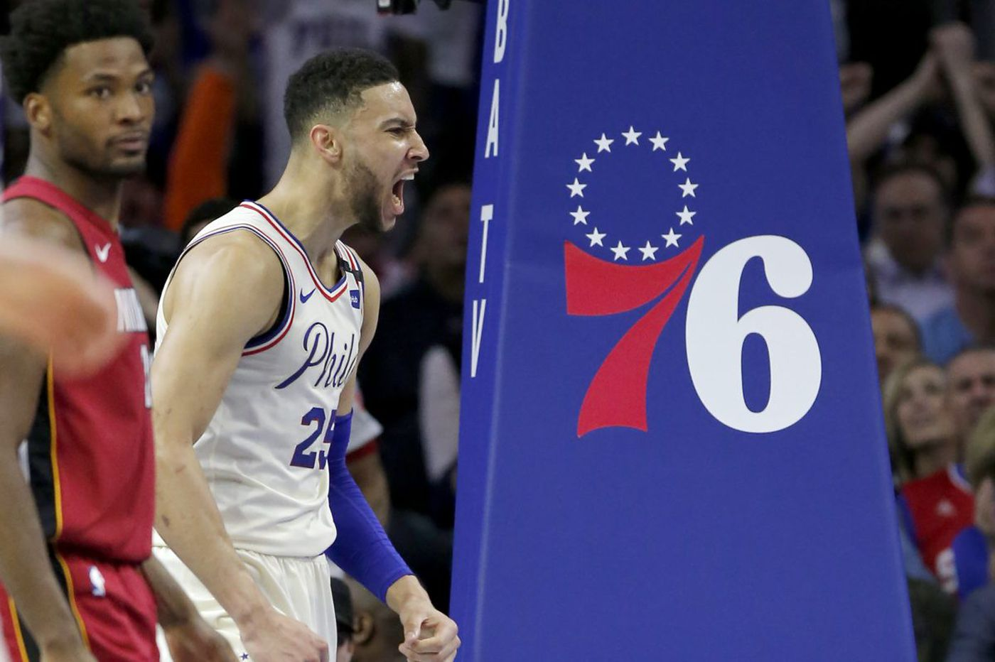 Sixers' Ben Simmons keeps competitive fire under control | Keith Pompey