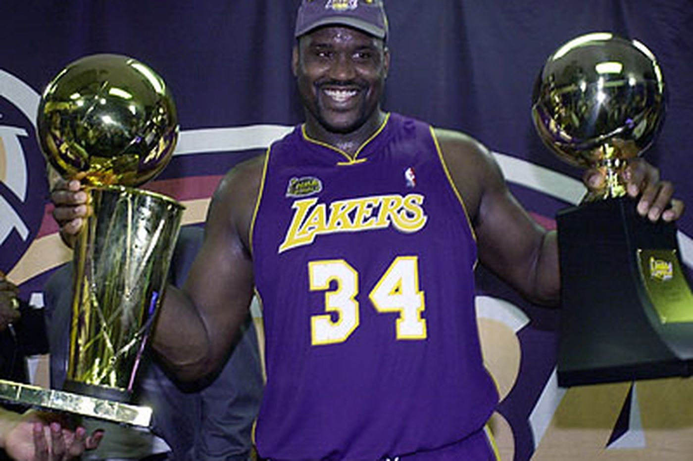 Shaq stayed too long, but what a force he was