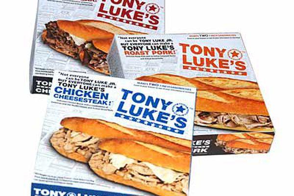 Tony Luke's to sell frozen cheesesteaks in groceries