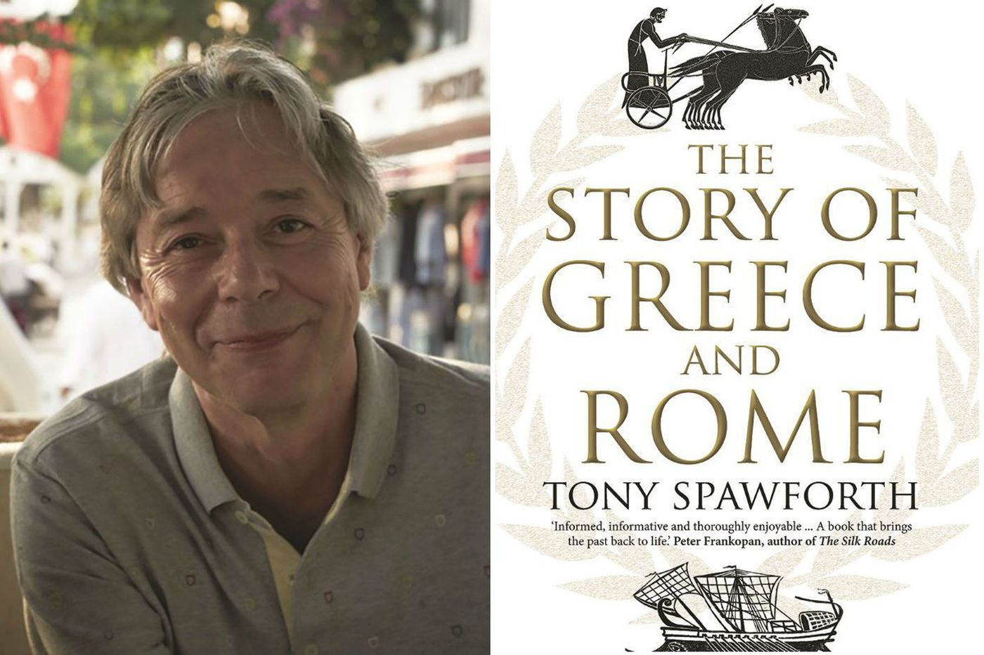 Tony Spawforth's 'Story of Greece and Rome': A sweeping tale for readers everywhere