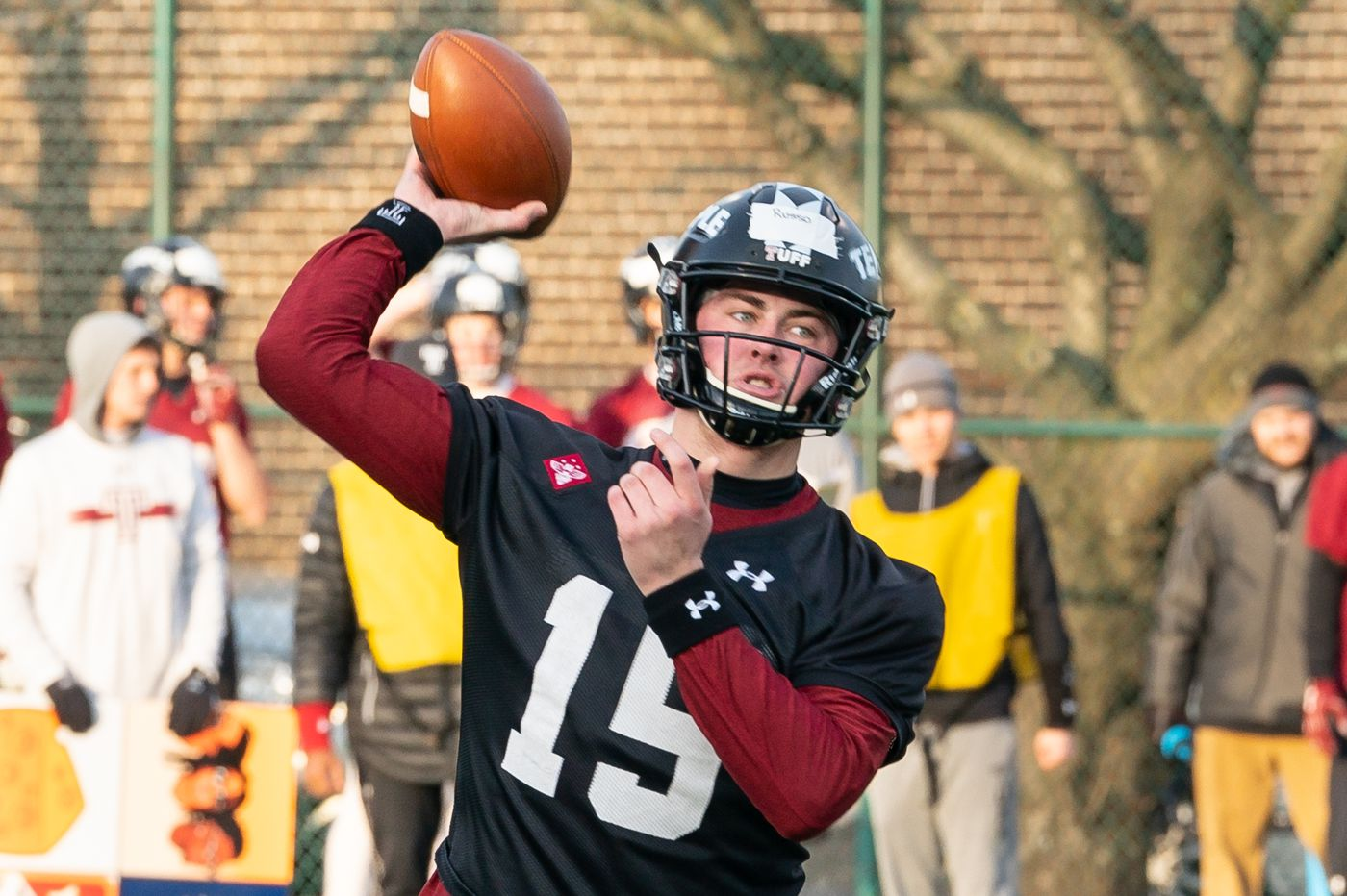 Temple QB Anthony Russo adding some muscle to his leadership role