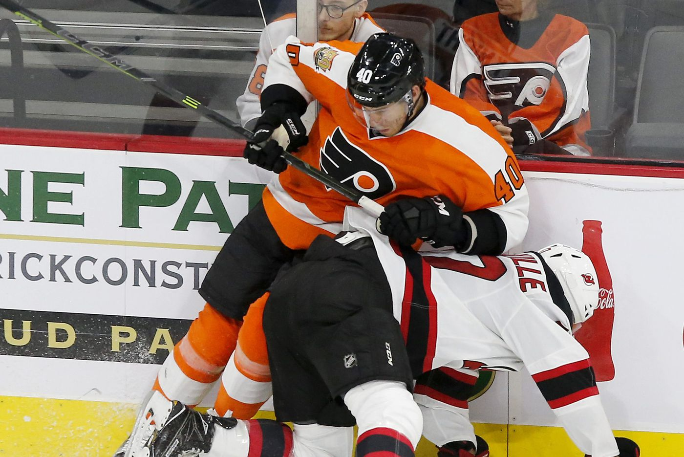 Flyers' Corban Knight returns to NHL; rookie Mikhail Vorobyev benched
