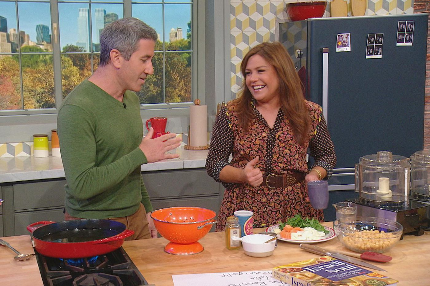 Catch Mike Solomonov frying falafel with Rachael Ray