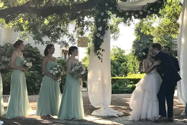 Brielle Saracini and Sean McGuire were wed in Austin, Texas, on Sept. 9.