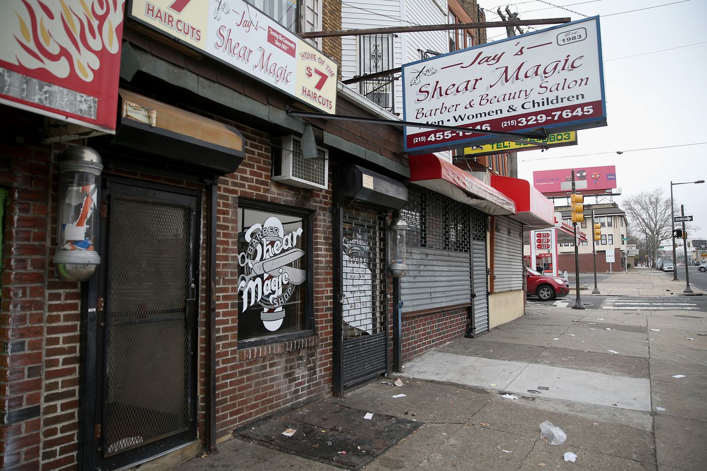 Neighbors shaken by quadruple shooting in North Philly barbershop