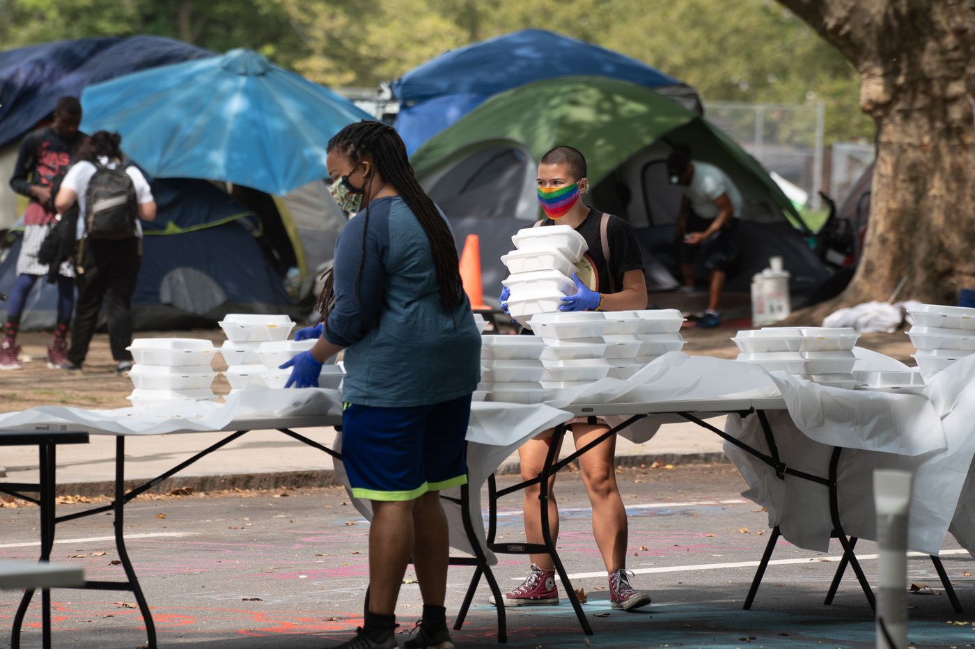 I live by the Parkway homeless encampment and see it offering public services, not nuisance | Opinion