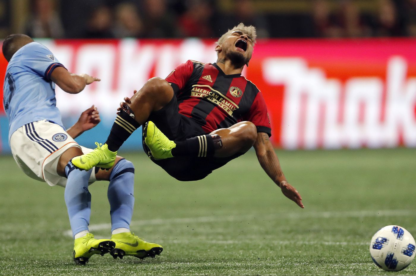Josef Martinez's two goals lead Atlanta United past NYCFC, into Eastern Conference final