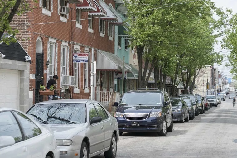 The 1600 block of Gratz Street is an example of Philadelphia's existing stock of rowhomes.