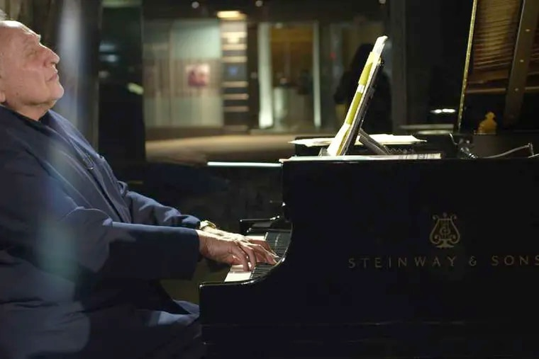 """Seymour Bernstein in Ethan Hawke's documentary """"Seymour: An Introduction."""" The director shares onscreen moments with the pianist, composer, and teacher, whose modest erudition is a delight."""